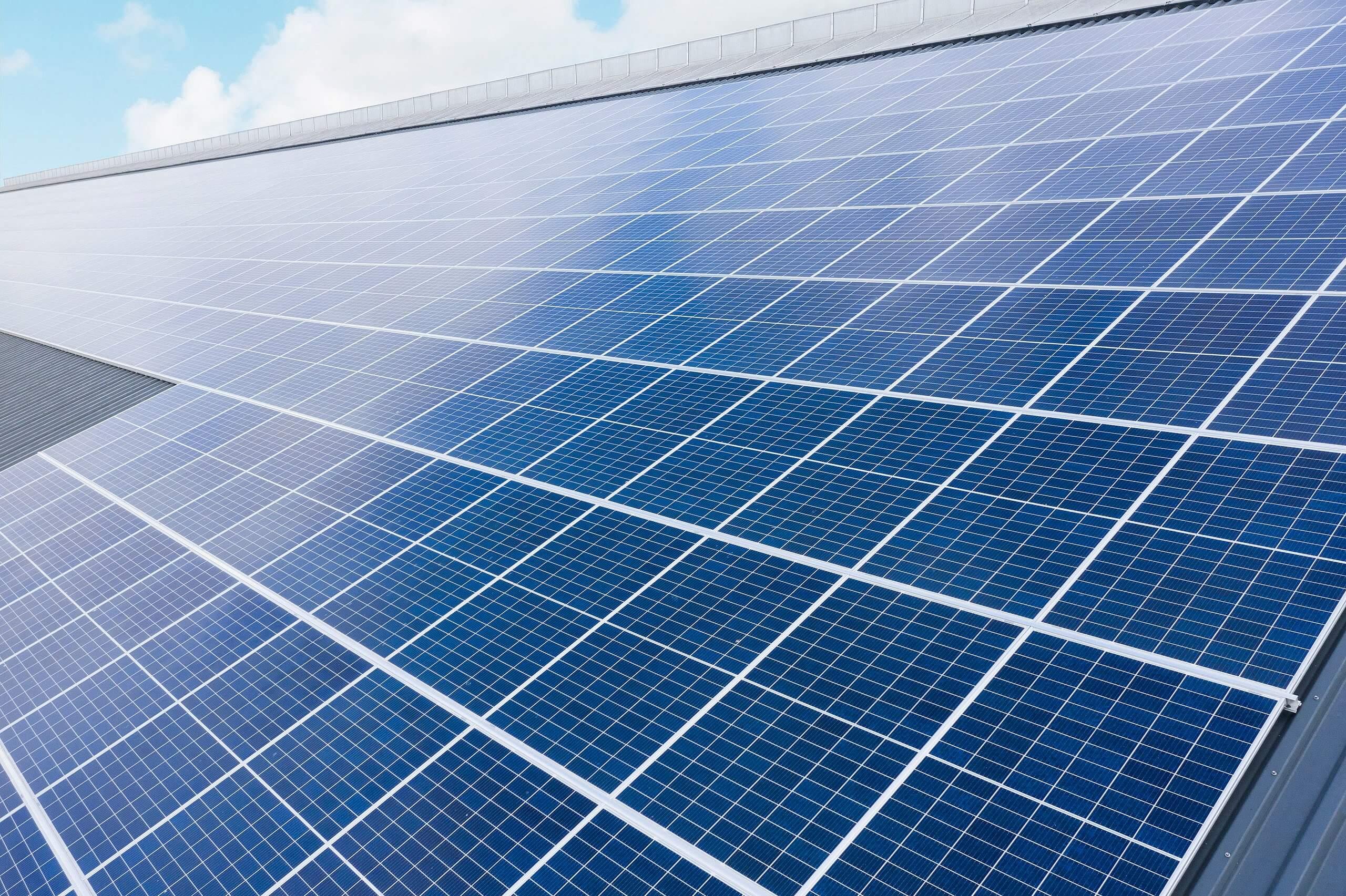Zonnepanelen industrieel