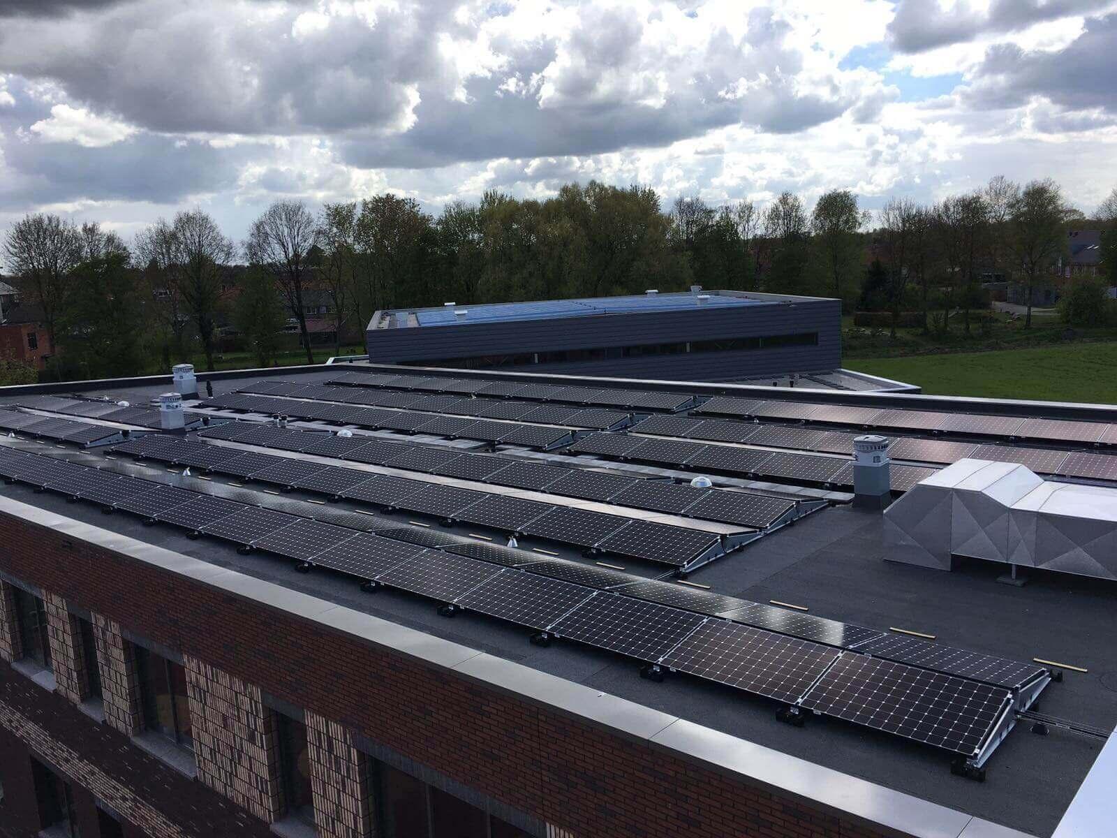 Industriële zonnepanelen